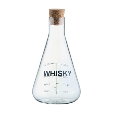 Mixology Whiskey Decanter Clear
