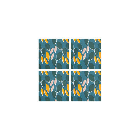 Scandi Palm Springs Napkin Set of 4  Multicolour