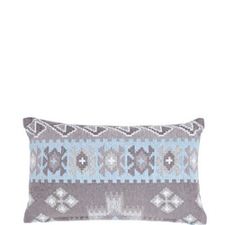 Ikat Weave Cushion Multicolour