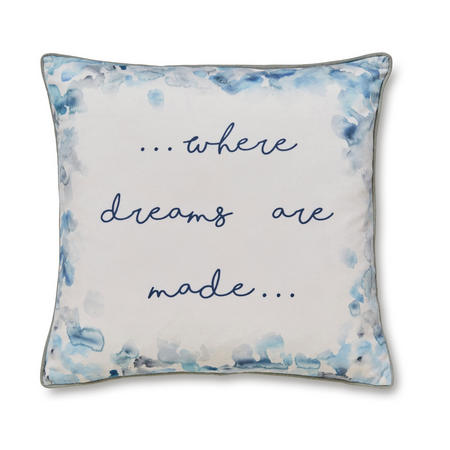 Where Dreams Are Made Cushion Multicolour