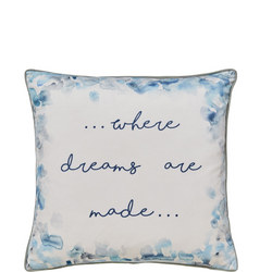 Where Dreams Are Made Cushion Multicolour