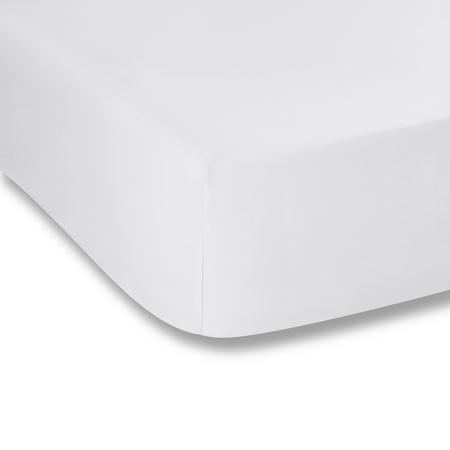 Cotton Soft 200 Thread Count Fitted Sheet White