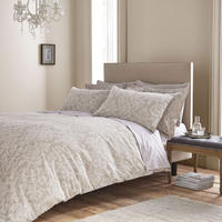 Textured Jacquard Duvet Set Natural