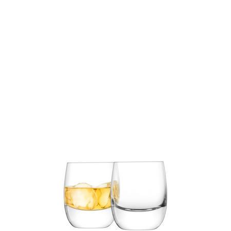 International Bar Whisky Tumbler x 2 Clear