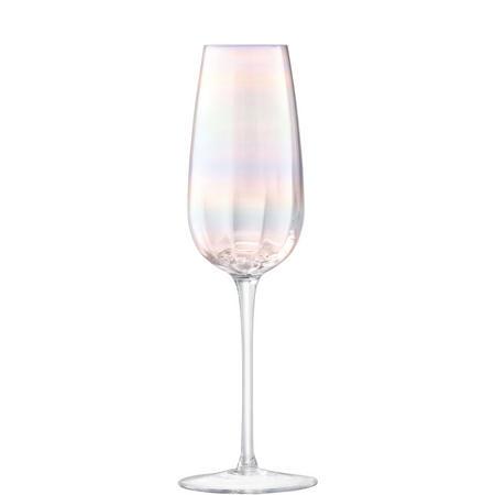 International Polka Champagne Flute x 4 Metallic