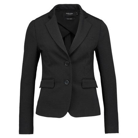 Slim Fit Smart Blazer Black