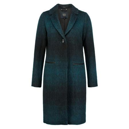 Longline Ombre Jacket Green