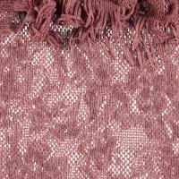 Open Knit Shawl Pink