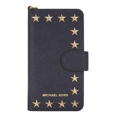 Star Leather iPhone 7 Case Navy