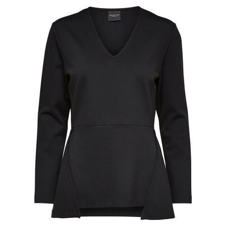 Gerti Long Sleeve Top Black