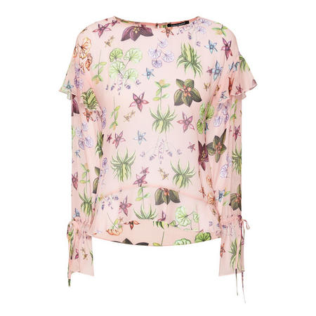 P&T Frill Blouse Pink