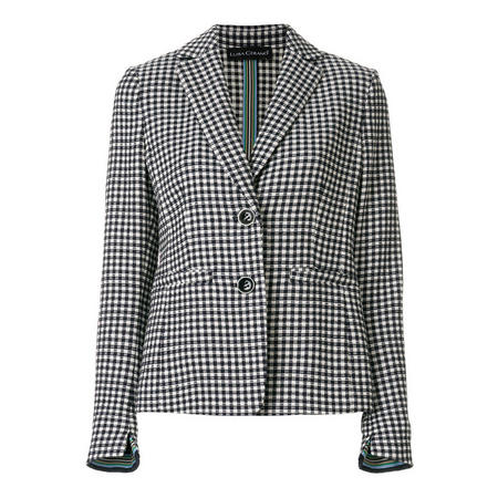 Tailored Check Jacket Multicolour