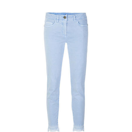 Skinny Trousers Light Blue
