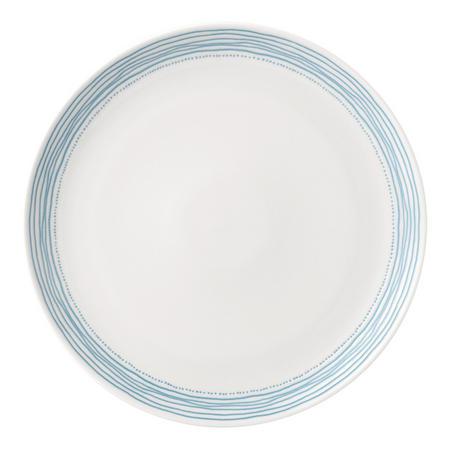 Ellen DeGeneres Polar Blue Dots Plate 28cm Blue
