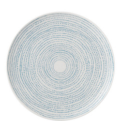 Ellen DeGeneres Polar Blue Dots Plate 21cm
