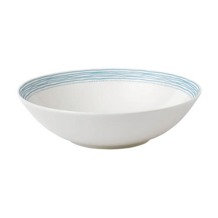 Ellen DeGeneres Polar Blue Dots Bowl 29cm