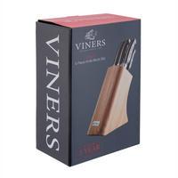 Acacia 5 Piece Knife Block Set