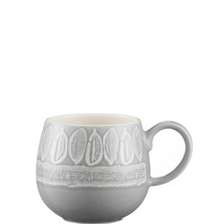 Leaf Mug Grey