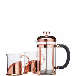 Cafetiere Set With Glasses
