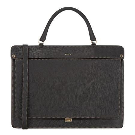 Like Top Handle Bag Medium Black
