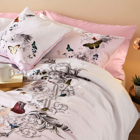 Enchanted Dream Housewife Pillowcase Pair Pink