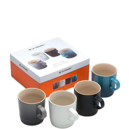 Mugs Set of 4  Multicolour
