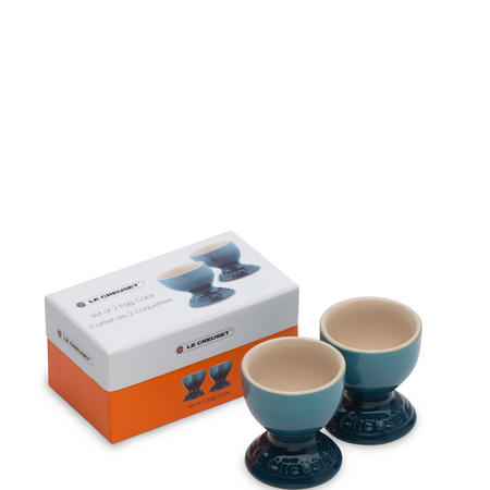 Egg Cups Set of 2 Marine Blue