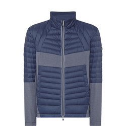 Jecko Quilted Jacket Navy