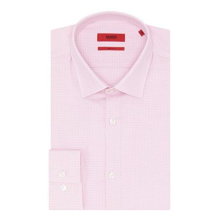 Jenno Woven Pattern Shirt Pink