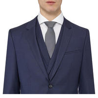 Admon Wilms Heston Three-Piece Suit Navy