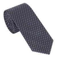 Dot Pattern Tie Blue