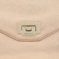 Pochette Flap Leather Crossbody Metallic