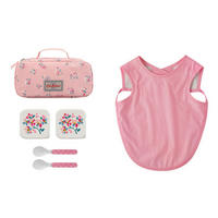 Woodstock Ditsy Feeding Pouch Pink