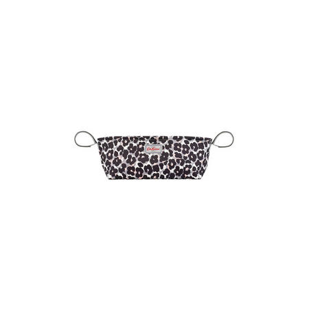 Leopard Flower Pushchair Organiser Grey