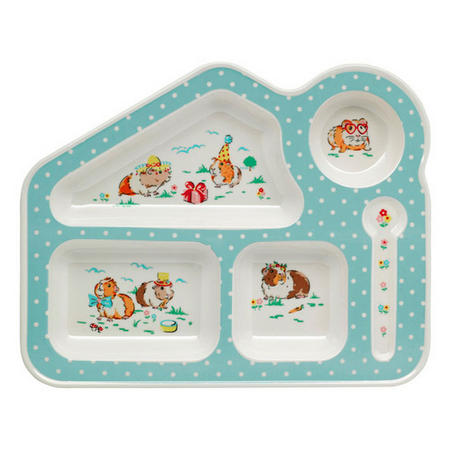 Pets Party Food Tray Cream