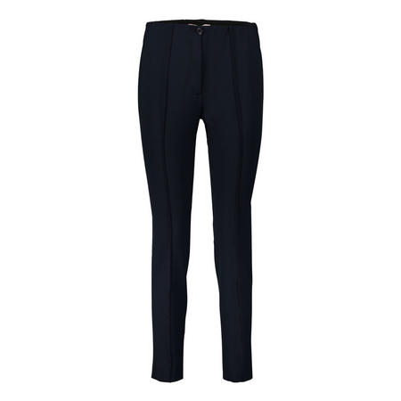Tapered Trousers Navy