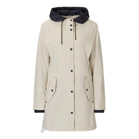 Hooded Jacket Cream