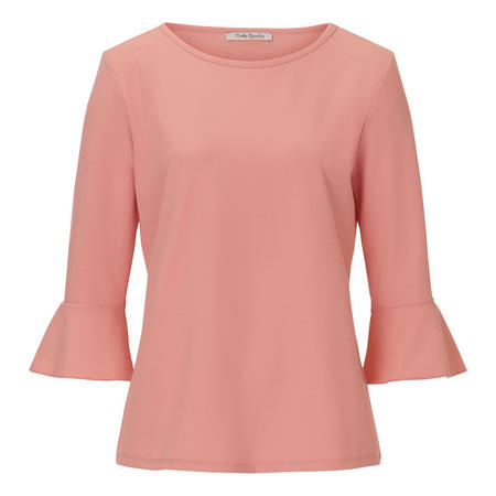 Bell Sleeve Top Pink