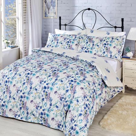 Blossom Duvet set Blue