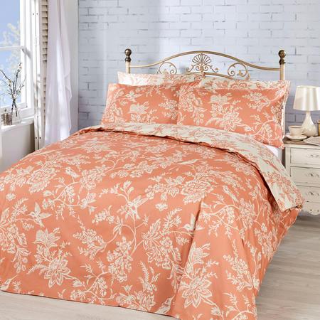 Vantona Millie Duvet set Peach Orange