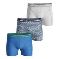 Three-Pack Aztec Essential Boxers Blue