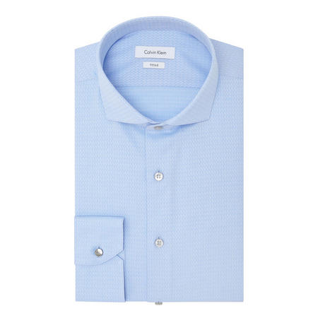 Norwich Fitted Shirt Blue