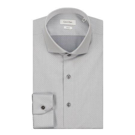 Norwich Dobby Formal Shirt Grey