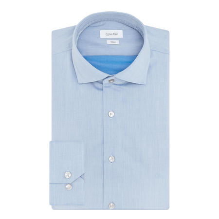 Rome Chambray Shirt Blue