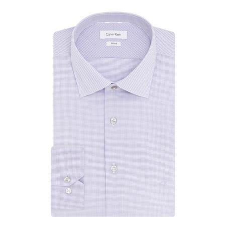 Cannes Check Shirt Purple