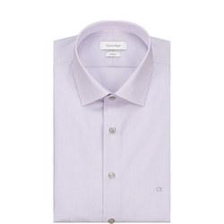 Cannes Stripe Formal Shirt Purple