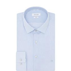 Bari Slim Fit Striped Shirt Blue