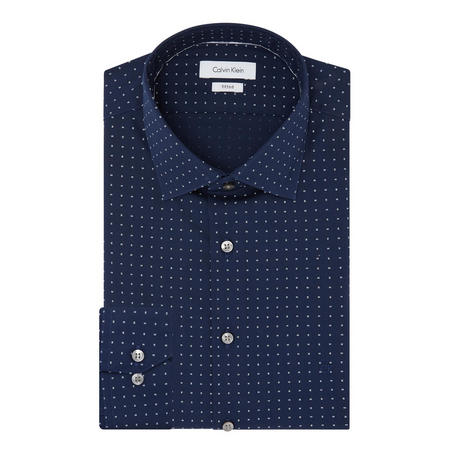 Cannes Fitted Shirt Navy