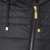 Trail Quilted Sweatshirt Black