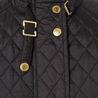 Gower Quilted Jacket Black